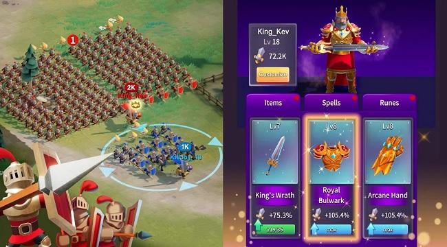 Game chiến thuật kết hợp với nhập vai Ancient Battle sẽ ra mắt trên mobile