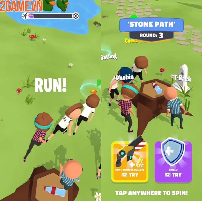 Spin the Battle - Tựa game xoay chai chọn người vô cùng vui nhộn 1