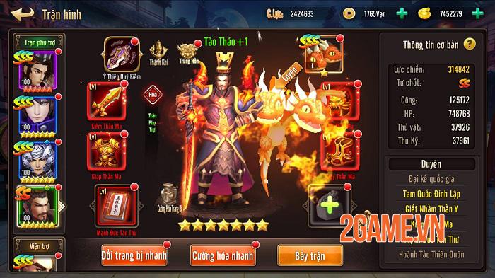 Ma Thần Tam Quốc ấn định thời gian ra mắt cộng đồng game thủ Việt 2