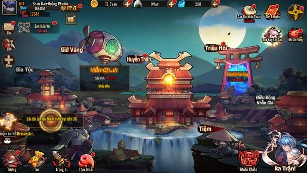 Game chiến thuật Nhật Nhẫn Giả Mobile tặng 1000 giftcode mừng ra mắt 1