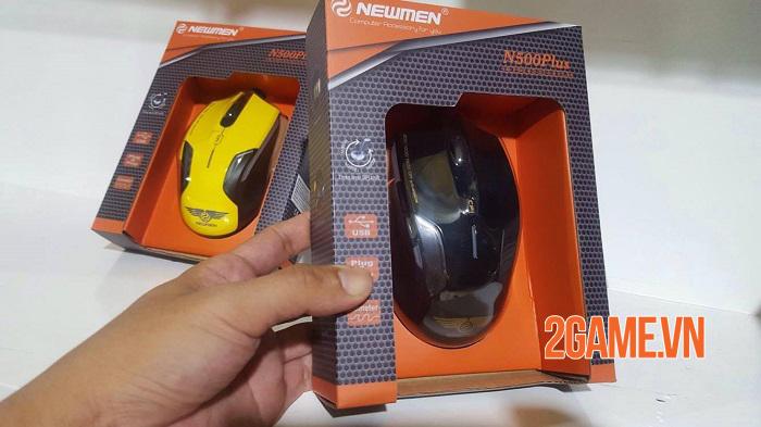 Newmen N500Plus - Chuột bình dân ngon bổ rẻ cho game thủ 4