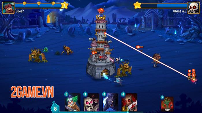Spooky Wars - Game chiến thuật phòng thủ tháp với các yếu tố hành động 0