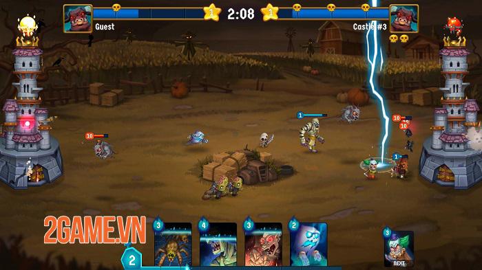 Spooky Wars - Game chiến thuật phòng thủ tháp với các yếu tố hành động 1