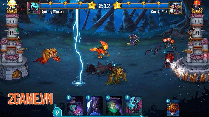 Spooky Wars - Game chiến thuật phòng thủ tháp với các yếu tố hành động 4
