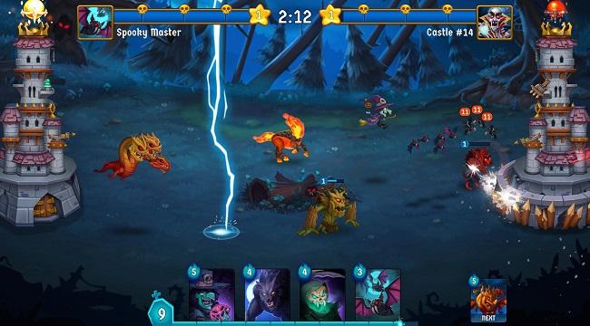 Spooky Wars – Game chiến thuật phòng thủ tháp với các yếu tố hành động