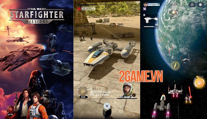 Star Wars: Starfighter Missions - Game phiêu lưu lấy cảm hứng từ điện ảnh 0