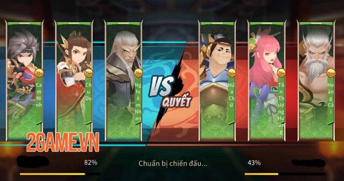 Tam Quốc Chiến Chibi là sự kết hợp hoàn hảo giữa thể loại đấu tướng và nhập vai 5