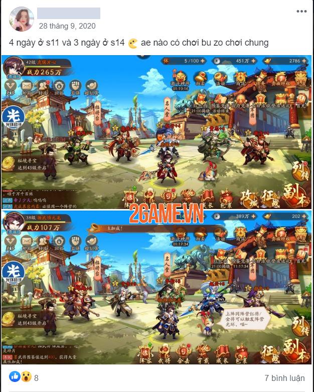 Không ít game thủ Việt rủ nhau chơi trước Thiếu Niên 3Q VNG bản nước ngoài 7