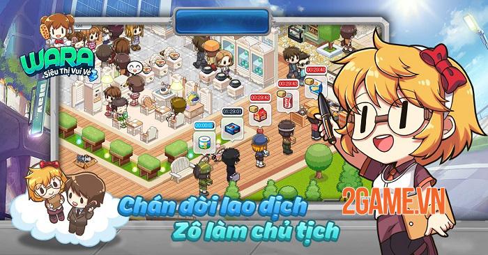 WARA Siêu Thị Vui Vẻ: Game kinh doanh cửa hàng tiện lợi độc đáo 1