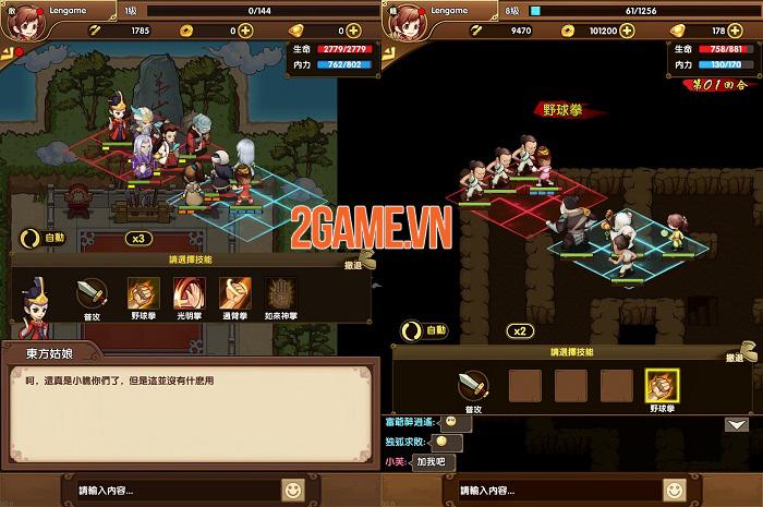 KungFu Heroes - game nhập vai về đạo võ thuật sẽ ra mắt trong tháng 10 2