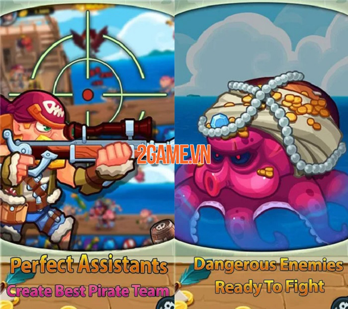 Pirate Defender - Đại hải chiến và trở thành hải tặc lừng danh thiên hạ 2
