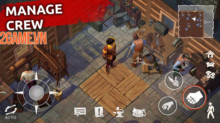 Mutiny Pirate Survival - Hành trình trở lại thuở huy hoàng của đại hải tặc 2