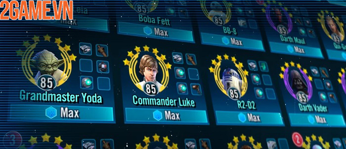 Star Wars: Galaxy of Heroes - Trở thành người hùng của các vì sao 5