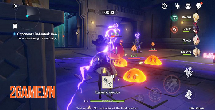 Cách kết hợp nguyên tố và tăng sức mạnh đội hình trong Genshin Impact 2