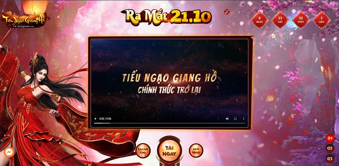 Chưa đầy 24 tiếng nữa thôi, Tiếu Ngạo Giang Hồ Online chính thức trở lại 2