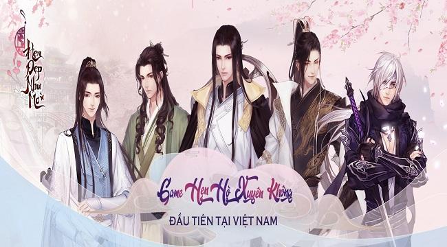 Hẹn Đẹp Như Mơ – Game hẹn hò xuyên không đầu tiên sắp ra mắt tại Việt Nam