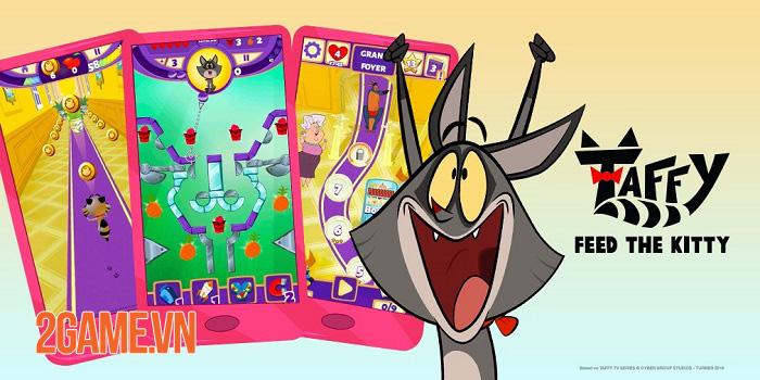 Taffy: Feed The Kitty - Game xếp hình pinball lấy cảm hứng từ phim hoạt hình 0