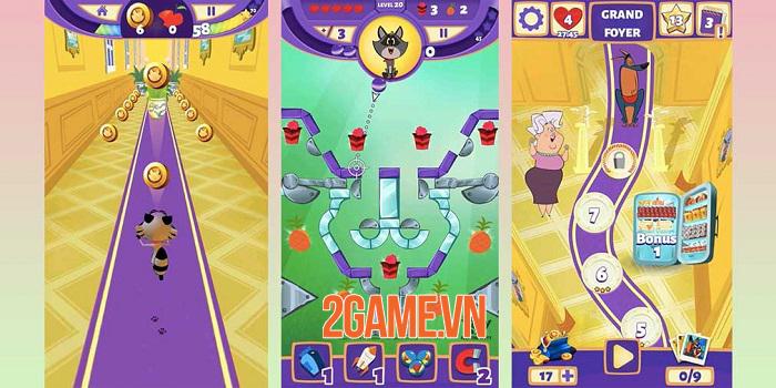 Taffy: Feed The Kitty - Game xếp hình pinball lấy cảm hứng từ phim hoạt hình 2