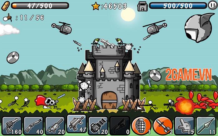 Cartoon Defense - Game hành động phòng thủ tháp thú vị 1