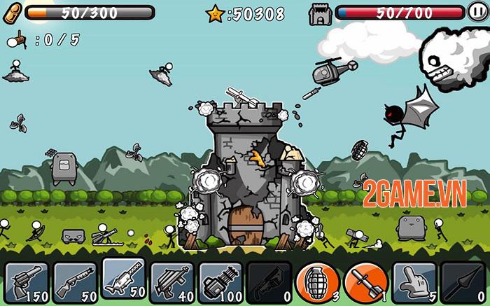 Cartoon Defense - Game hành động phòng thủ tháp thú vị 2