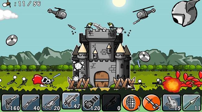 Cartoon Defense – Game hành động phòng thủ tháp thú vị