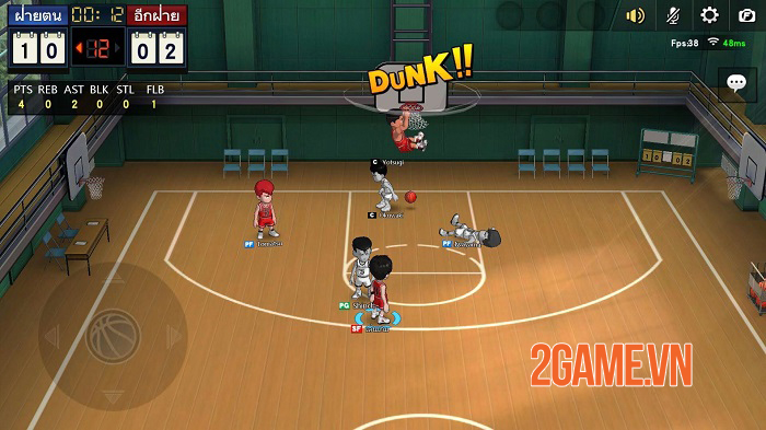 Game chuyển thể từ manga nổi tiếng Slam Dunk Mobile mở cửa thử nghiệm toàn cầu 0