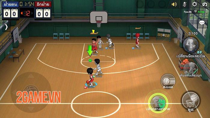 Game chuyển thể từ manga nổi tiếng Slam Dunk Mobile mở cửa thử nghiệm toàn cầu 2