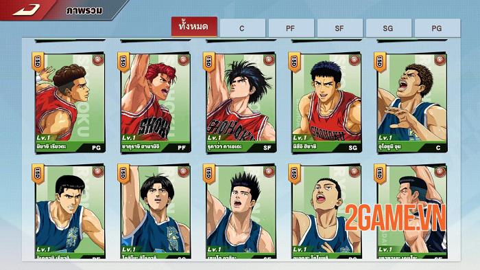 Game chuyển thể từ manga nổi tiếng Slam Dunk Mobile mở cửa thử nghiệm toàn cầu 1