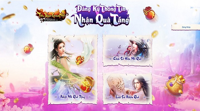 Tặng 300 giftcode game Tiếu Ngạo Giang Hồ
