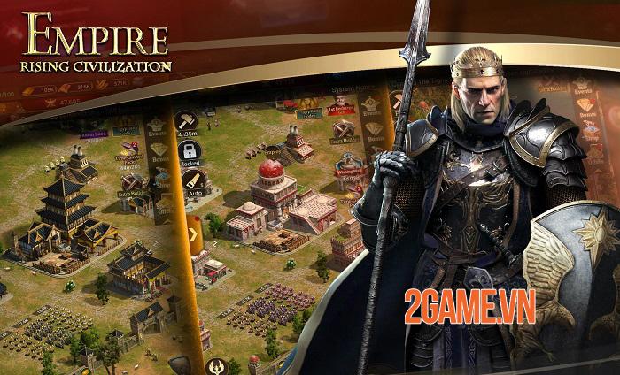 Empire: Rising Civilizations - Tấn công và bảo vệ các lãnh thổ bằng chiến lược riêng 3