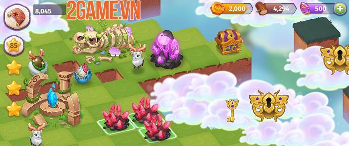 Merge Magic - Tựa game khiến người chơi trở thành thần tạo hóa thần kỳ 0