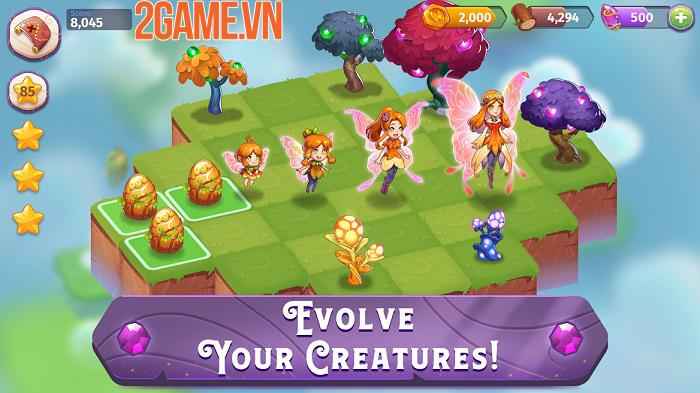 Merge Magic - Tựa game khiến người chơi trở thành thần tạo hóa thần kỳ 1