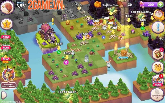 Merge Magic - Tựa game khiến người chơi trở thành thần tạo hóa thần kỳ 3