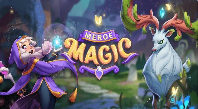 Merge Magic – Tựa game khiến người chơi trở thành thần tạo hóa thần kỳ