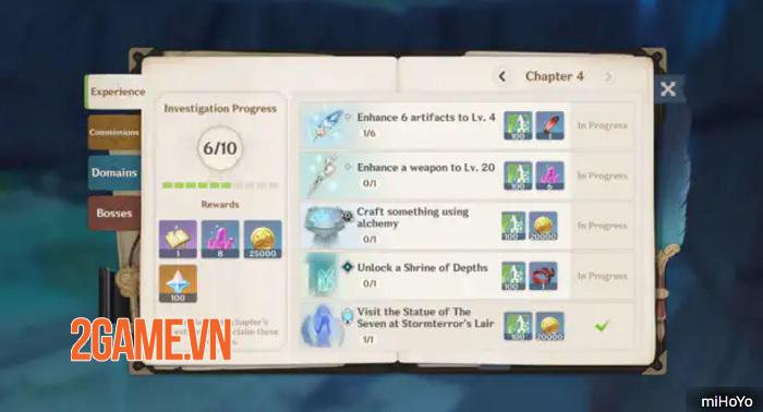 Genshin Impact bật mí cách tích lũy và kiếm thêm nhiều Mora 4