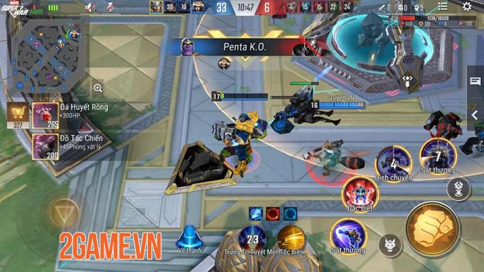 MARVEL Super War VN: Lối chơi quen thuộc, ổn định tuy không nhiều đột phá 4