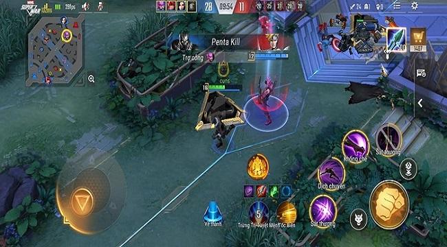 MARVEL Super War VN: Lối chơi quen thuộc, ổn định tuy không nhiều đột phá