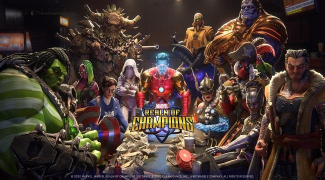 Game MOBA 3vs3 của Kabam là Marvel Realm of Champions mở đăng kí trước