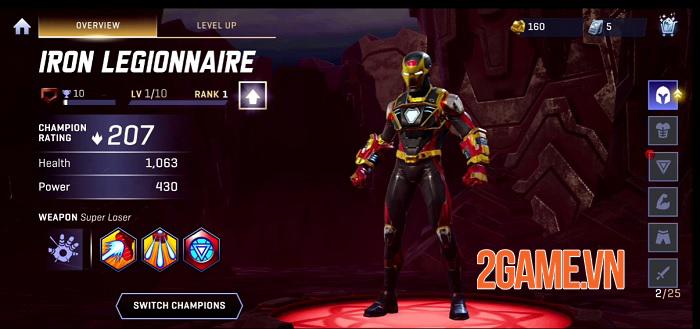 Game MOBA 3vs3 của Kabam là Marvel Realm of Champions mở đăng kí trước 2