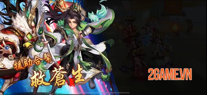 Thiếu Niên 3Q VNG hội tụ đầy đủ tinh hoa của game nhập vai đấu tướng 1