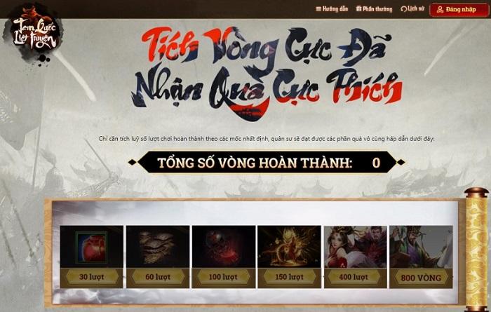 Cơ hội sở hữu TV 4K 55inch và loạt quà khủng cùng vòng quay Tam Quốc Liệt Truyện 2