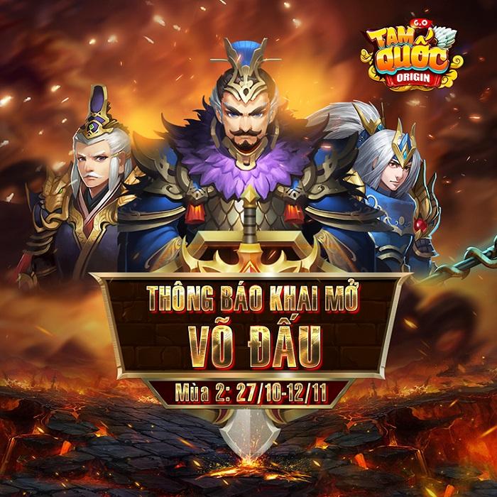 Tam Quốc Origin sẽ nâng tầm với sự kiện Thiên Hạ Võ Đấu sắp diễn ra 0