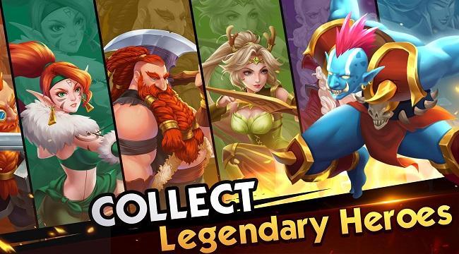 Legends of Gems – Tựa game nhập vai về truyền thuyết thánh chiến