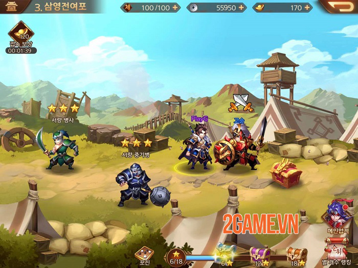 Dynasty Scrolls - Game nhập vai có hệ thống kết hợp kĩ năng độc đáo 3