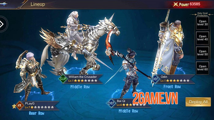 Deity Arena - Game nhập vai chiến lược giả tưởng 3D có lối chơi đa dạng 1