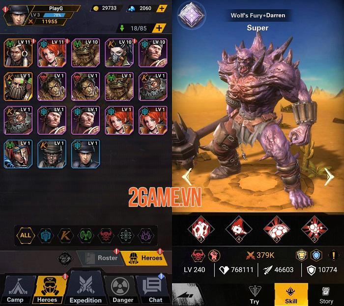 Doomsday Guardian - Game mobile AFK hoàn toàn mới với chủ đề Walking-Dead 1