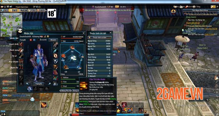 Những tính năng nổi bật thu hút game thủ Tiếu Ngạo Giang Hồ Online 0
