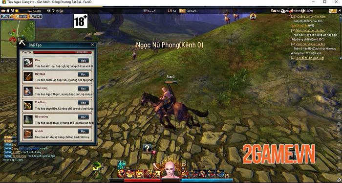 Những tính năng nổi bật thu hút game thủ Tiếu Ngạo Giang Hồ Online 3