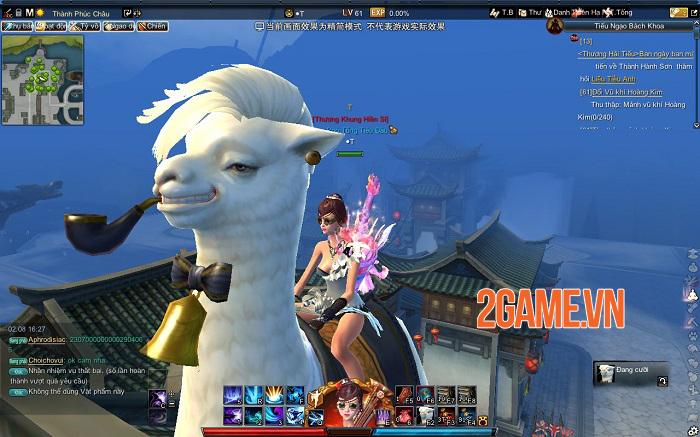 Những tính năng nổi bật thu hút game thủ Tiếu Ngạo Giang Hồ Online 4