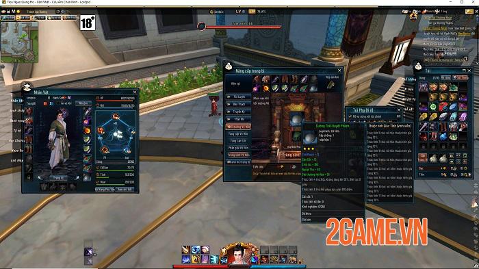 Những tính năng nổi bật thu hút game thủ Tiếu Ngạo Giang Hồ Online 2